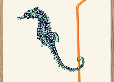 Affiches - Affiche Sea horse. - THE DYBDAHL CO.