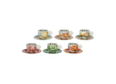 Coffee and tea - Set of 6 Happy coffee cups - THUN