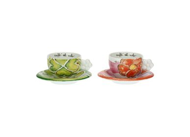 Coffee and tea - Set of 2 medium Happy cups - THUN