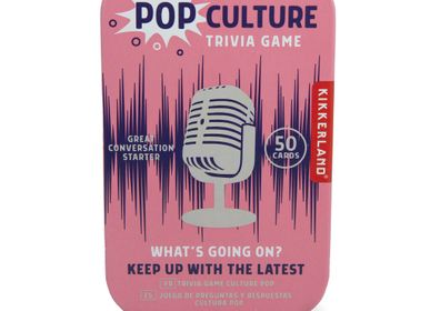 Gifts - Pop Culture Trivia Tin - KIKKERLAND
