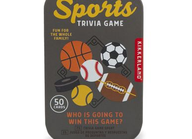 Gifts - Sports Trivia Tin - KIKKERLAND