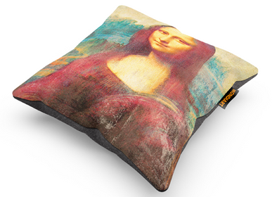 Fabric cushions - MONDiART, Cushion, Mona Lisa - MONDIART ART & DECORATIONS