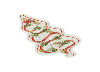 Kitchen splash backs - Sweet Christmas tree shaped plate - THUN
