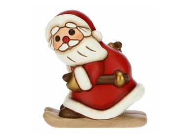 Other Christmas decorations - Medium Santa Claus with skis - THUN