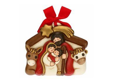Nativity scenes and santons - Nativity scene decorative plaque - THUN