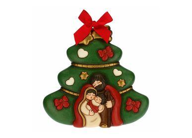Crèches et santons - Plaque décorative pour sapin de Noël - THUN
