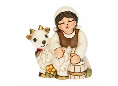 Nativity scenes and santons - Goat milker - THUN
