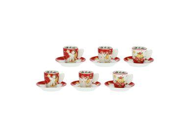 Cadeaux - Lot de 6 tasses à café de Noël - THUN