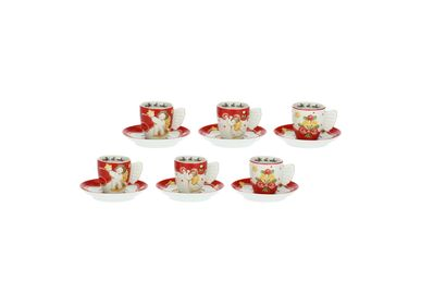 Gifts - Set of 6 Sweet Christmas coffee cups - THUN