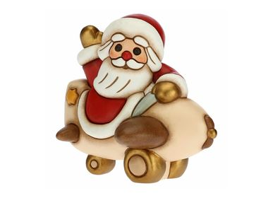 Autres décorations de Noël - Grand Père Noël dans l'avion - THUN