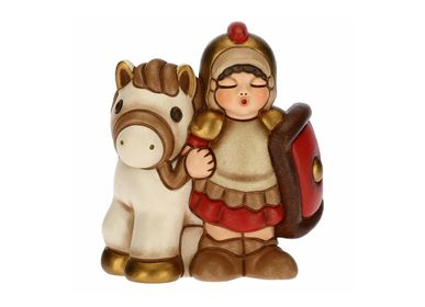 Nativity scenes and santons - Soldier with horse Classic crib - THUN