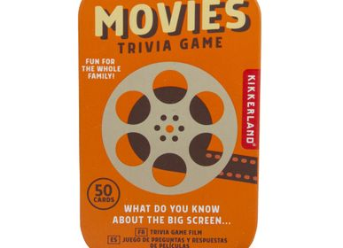 Gifts - Movies Trivia Tin - KIKKERLAND