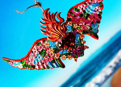Autres décorations murales - Décoration Guirnalda Espinado Flores 3D - PINK PAMPAS