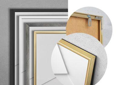 Other wall decoration - Alu Frame - Matt White - CHICURA COPENHAGEN