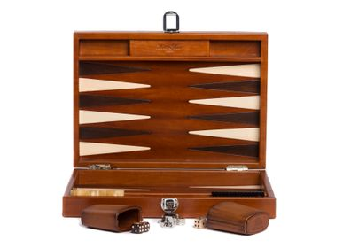Petite maroquinerie - Backgammon I Cuir Patiné - HECTOR SAXE PARIS DEPUIS 1978