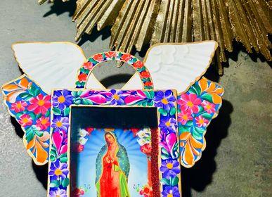 Autres décorations murales - Cadre décoratif spécial fleur guadalupe - PINK PAMPAS