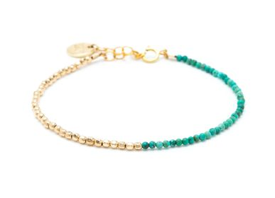 Jewelry - Queen bracelet bicolor - YAY PARIS