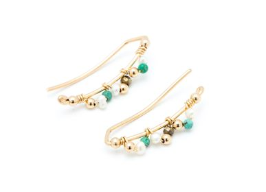 Jewelry - Lace Climber Earrings - YAY PARIS