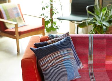 Fabric cushions - Pinstripe Cushion Calvert - WALLACE SEWELL