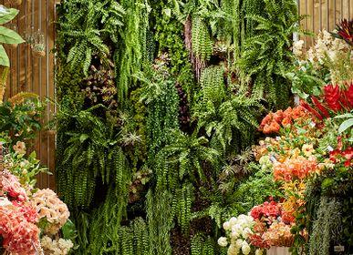 Floral decoration - mur végétal - LOU DE CASTELLANE - plantes et fleurs artificielles - LOU DE CASTELLANE