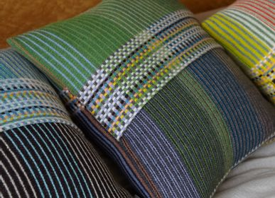Fabric cushions - Pinstripe Cushion Florence - WALLACE SEWELL