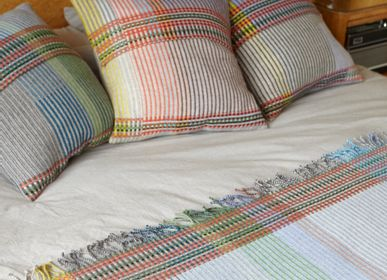 Fabric cushions - Pinstripe Cushion Wollstonecraft - WALLACE SEWELL
