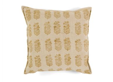 Coussins - Coussin coton Lily 45x45 cm AX21089 - ANDREA HOUSE