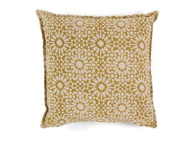 Cushions - Marigold cotton cushion 45x45 cm AX21091 - ANDREA HOUSE