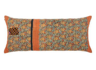 Fabric cushions - Giant cushion Central Asia - LE MONDE SAUVAGE BEATRICE LAVAL