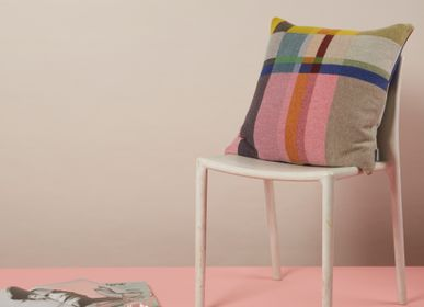 Fabric cushions - Block Cushion Lloyd - WALLACE SEWELL