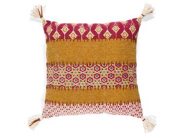 Cushions - Lilac cotton cushion 45x45 cm AX21123 - ANDREA HOUSE