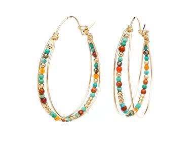 Jewelry - Queen hoops earrings - YAY PARIS