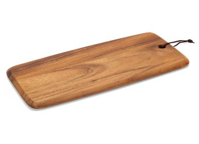 Table mat - Acacia wood cutting board 22x46x2 cm CC21063 - ANDREA HOUSE