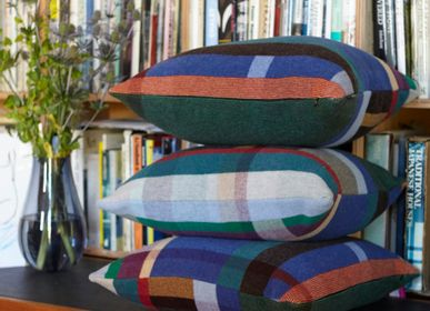 Fabric cushions - Block Cushion Antoni - WALLACE SEWELL