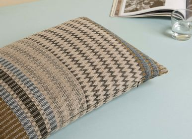 Fabric cushions - Ettore Rectangle Cushion Oatmeal - WALLACE SEWELL