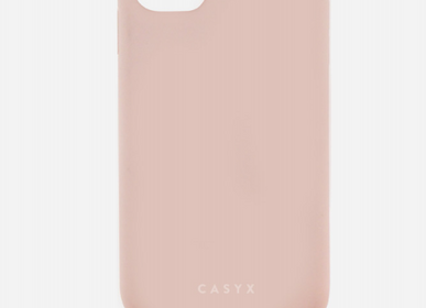 Travel accessories - Case with rope / necklace : Powder pink - CASYX