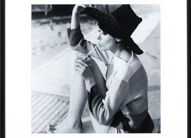 Art photos - Wall decoration, Vogue, July 1961. - ABLO BLOMMAERT
