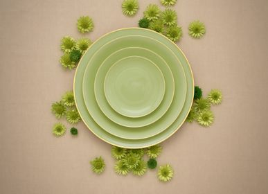 Assiettes de réception  - Matcha assiettes en porcelaine  - PORCEL