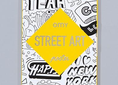 Papeterie - ARTWORK STREET ART  - OMY