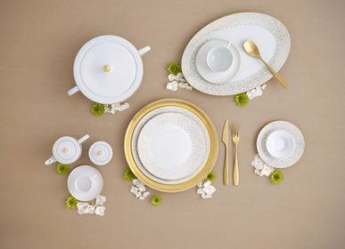 Formal plates - Sunstone porcelain plate - PORCEL