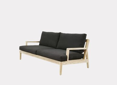 Lawn sofas   - AUSTIN 2 SEATS SOFA - XVL HOME COLLECTION