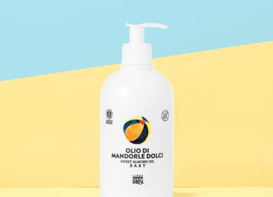Children's bathtime - GUENDALINA Almond oil - LINEA MAMMABABY