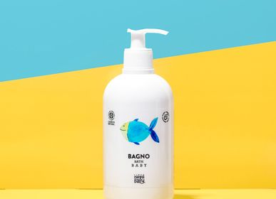 Children's bathtime - PASQUALINO baby bath cleanser - LINEA MAMMABABY