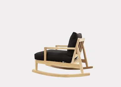 Lawn armchairs - AUSTIN ROCKING CHAIR - XVL HOME COLLECTION