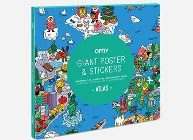 Stationery - POSTER & STICKERS - ATLAS - OMY