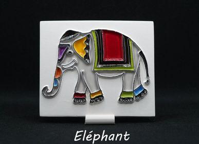 Céramique - Diffuseur de parfum Eléphant - AROMA TERRE HAPPY