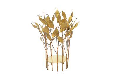 Design objects - Pea Pod Hurricane, Brass Gold Patina - MOJOO
