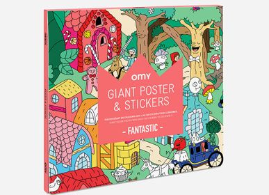 Papeterie - POSTER & STICKERS - FANTASTIC  - OMY
