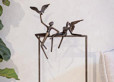 Sculptures, statuettes et miniatures - Statuette Love Birds - GARDECO