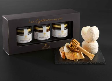"Delicatessen - ""Cheese & Truffles trio"" gift box - PLANTIN"